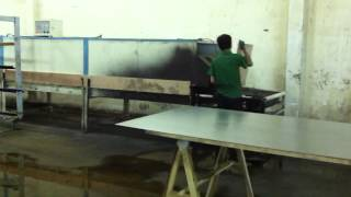 The Step 3.1 To Make Metal Top For Fish Project-como Sawhorse Dining Table