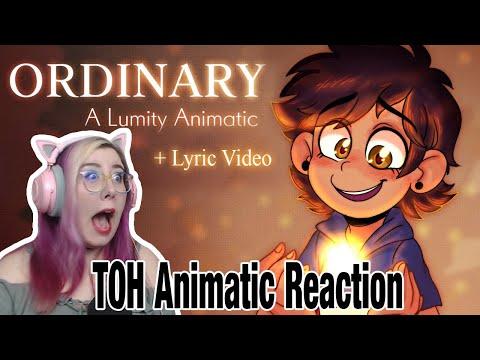 ORDINARY    Lumity Animatic (TOH) By dulceadraws REACTION - Zamber Reacts