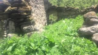 Ингушетия.  Oстаток родословной башни тейпа Кодзоевых. 1000  лет