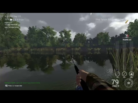 Fishing planet ps4 missouri mudwater river guide for low for Fishing planet ps4