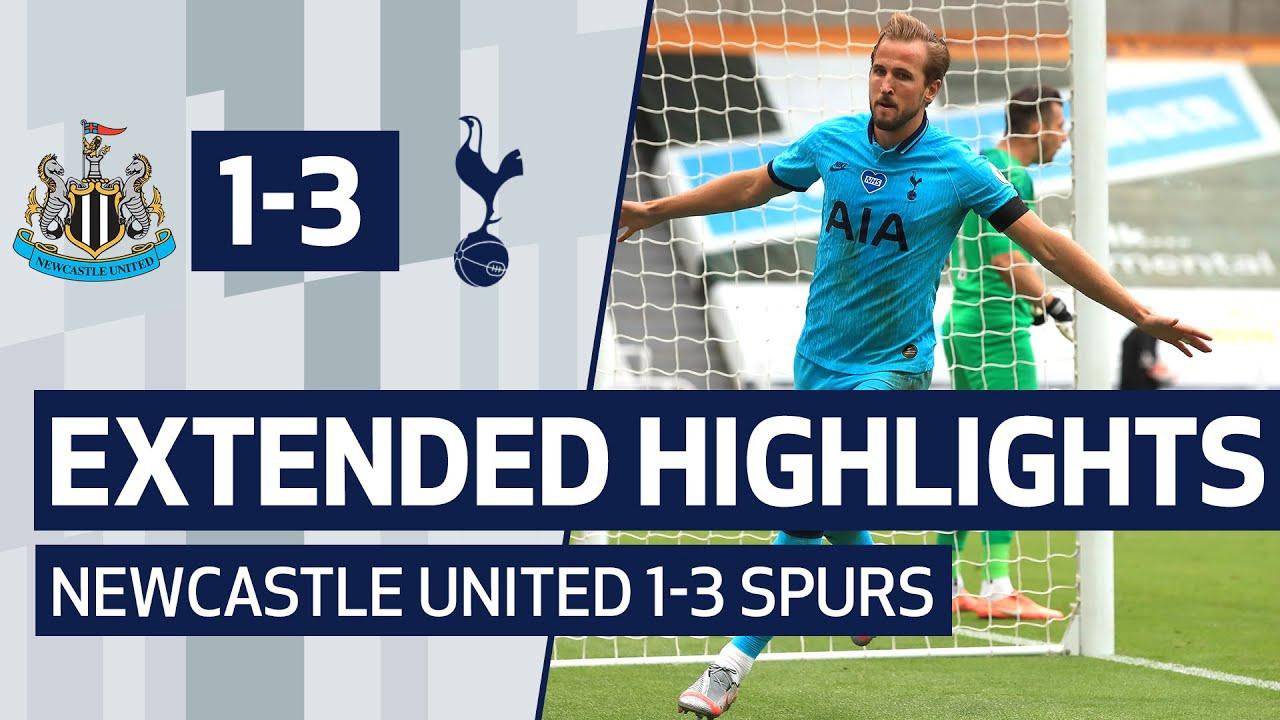 EXTENDED HIGHLIGHTS | NEWCASTLE UNITED 1-3 SPURS | Harry Kane scores 200th career goal!