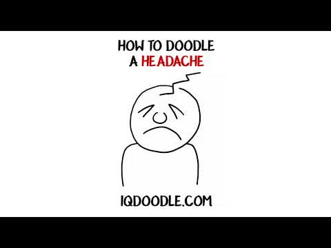 How to Draw a Headache (drawing tips)