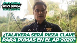 ¿Un mejor equipo? Pumas y la llegada de Talavera a Ciudad Universitaria | TUDN