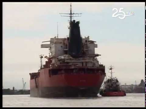 Remueven barco que chocó con puente que une a Durán con Isla Santay