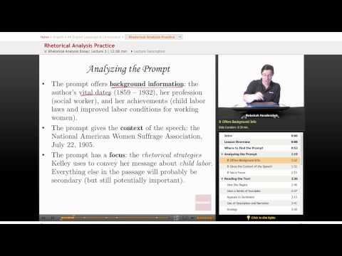 Видео Ap english argument essay 9