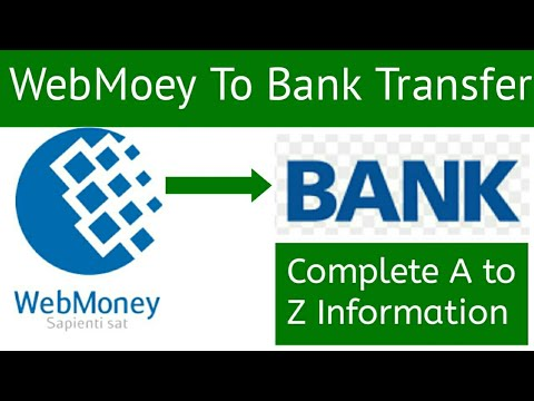 Webmoey To Bank Account Transfer In Pakistan In Hindi