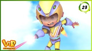 Vir: The Robot Boy | Voice Of Vir | Action Show for Kids | 3D cartoons
