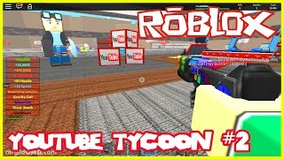 YOUTUBE FACTORY TYCOON part #2 - Let's play Roblox