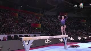 Angelina Melnikova Beam Team Final 2019 World Championships