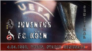 UEFA Cup 1989-90, Juve - FC Köln (Full, IT)