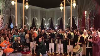أمسية رائعة في ليلة ختام المعرض المغربي-المغرب في ابو ظبي