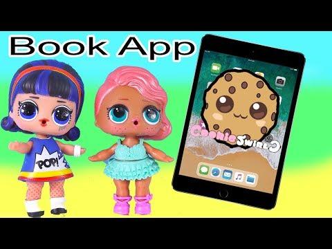 Rivet Kids Reading App ! Read Cookie Swirl C Video Books on Tablet