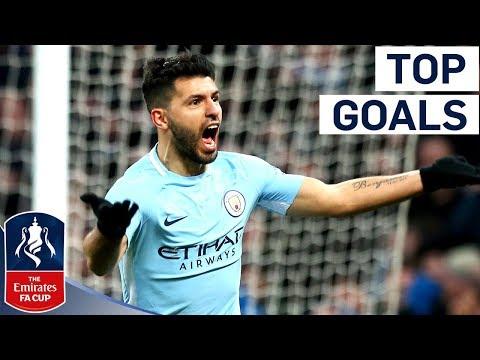 Aguero Wondergoal and Vertonghen Screamer!   Top Goals of Round 3   Emirates FA Cup 2017/18