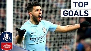 Aguero Wondergoal and Vertonghen Screamer! | Top Goals of Round 3 | Emirates FA Cup 2017/18