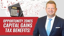 Opportunity Zones Capital Gains Tax Benefits (QUESTIONS ANSWERED)