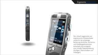 Philips Digital Pocket Memo - Verschleißfreier Schiebeschalter