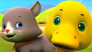 Animals Song & More Kids Songs | Nursery Rhymes Playlist for Children | MiniBus