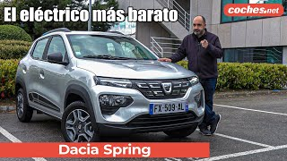 Dacia Spring Electric 2021 | Primera prueba / Test / Review en español | coches.net