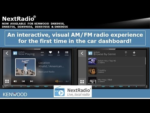 KENWOOD Introduces: NextRadio® Live, Local Radio - Now Available on Select  Receivers!