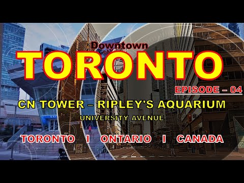 Visit Canada I Visit Toronto Downtown I سیاحت کینیڈا I Toronto I تورونتو I 多伦多 I CANADA I