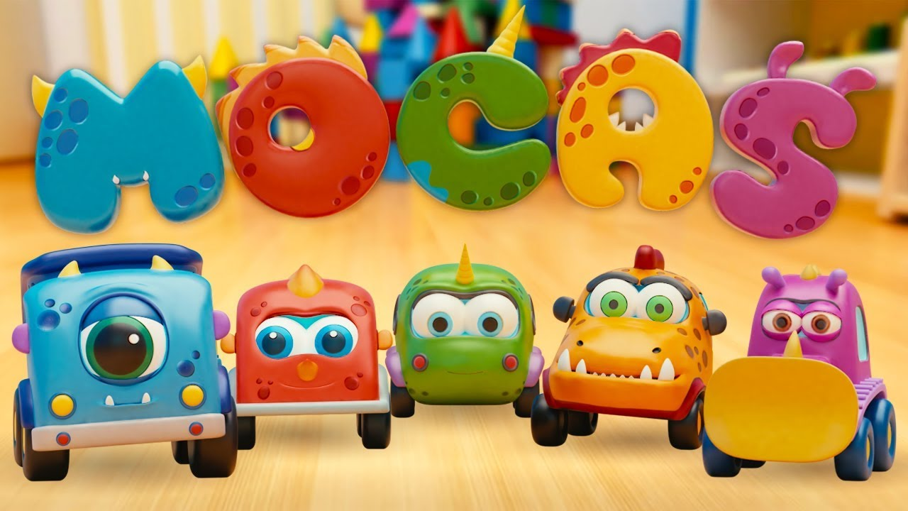 Mocas: Little Monster Cars - Cartoons Full Episodes - Toy Cars & Toy Trucks for Kids