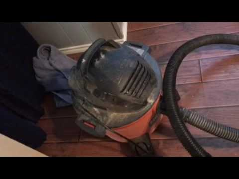 How to unclog a sink drain the easy way, with a shop vac