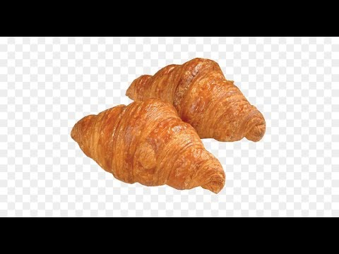 Super delicious crispy croissant