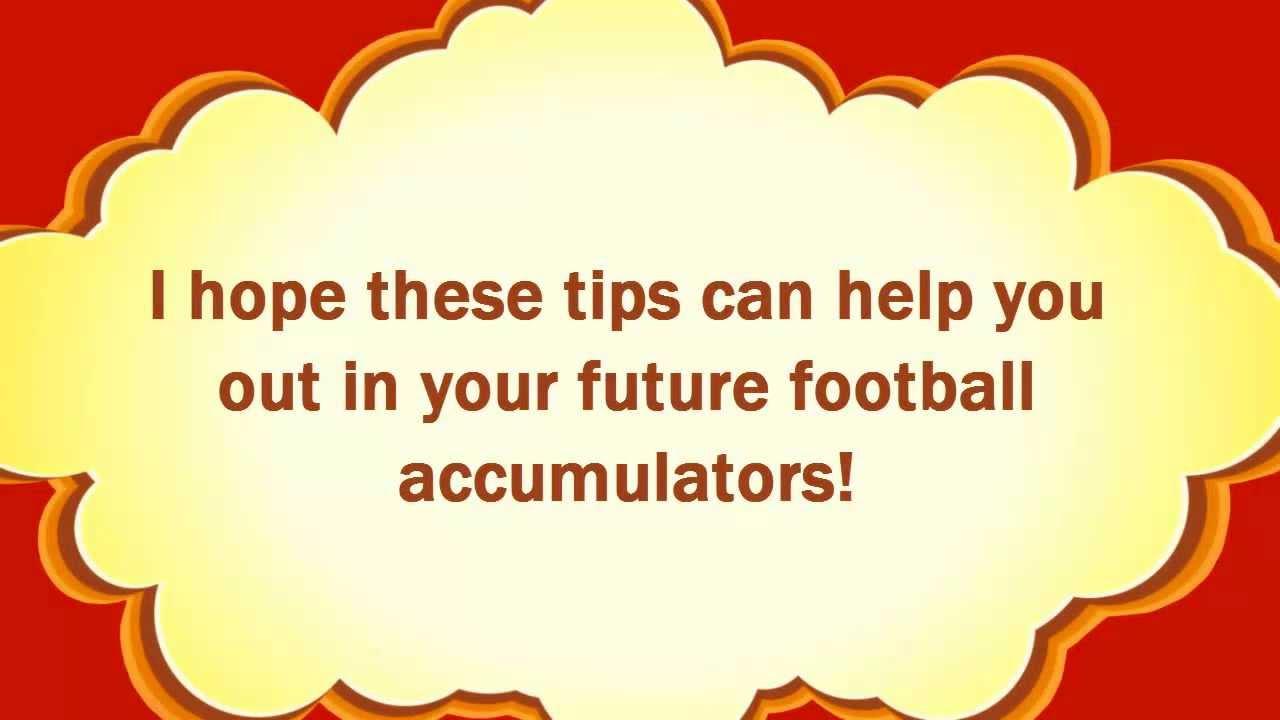 Soccer betting – How to create a winning football accumulator