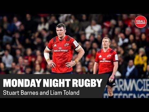 MONDAY NIGHT RUBGY   Stuart Barnes & Liam Toland