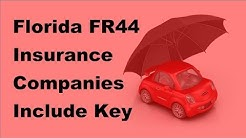 2017 Vehicle Insurance Policy  | Florida FR44 Insurance Companies Include Key Policy Discounts