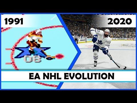 EA NHL, The Evolution [1991 - 2020]