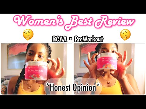 Women's Best Product Review   Bcaa & Preworkout   my first honest opinion   LaVon Annette