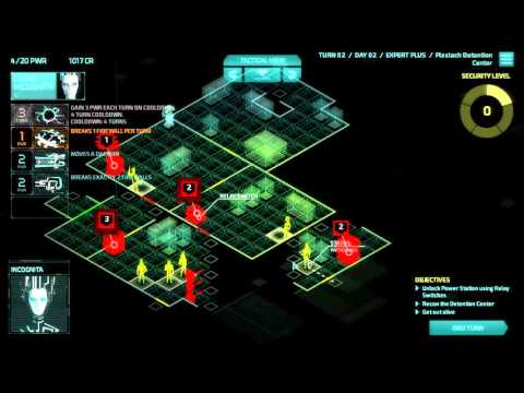 Invisible Inc Campaign 3-7 (Contingency Plan)