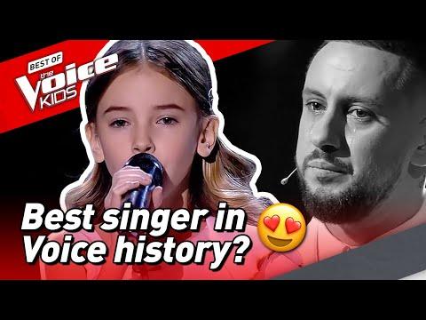 10-Year-Old Daneliya brings COACH TO TEARS in The Voice Kids! 😢
