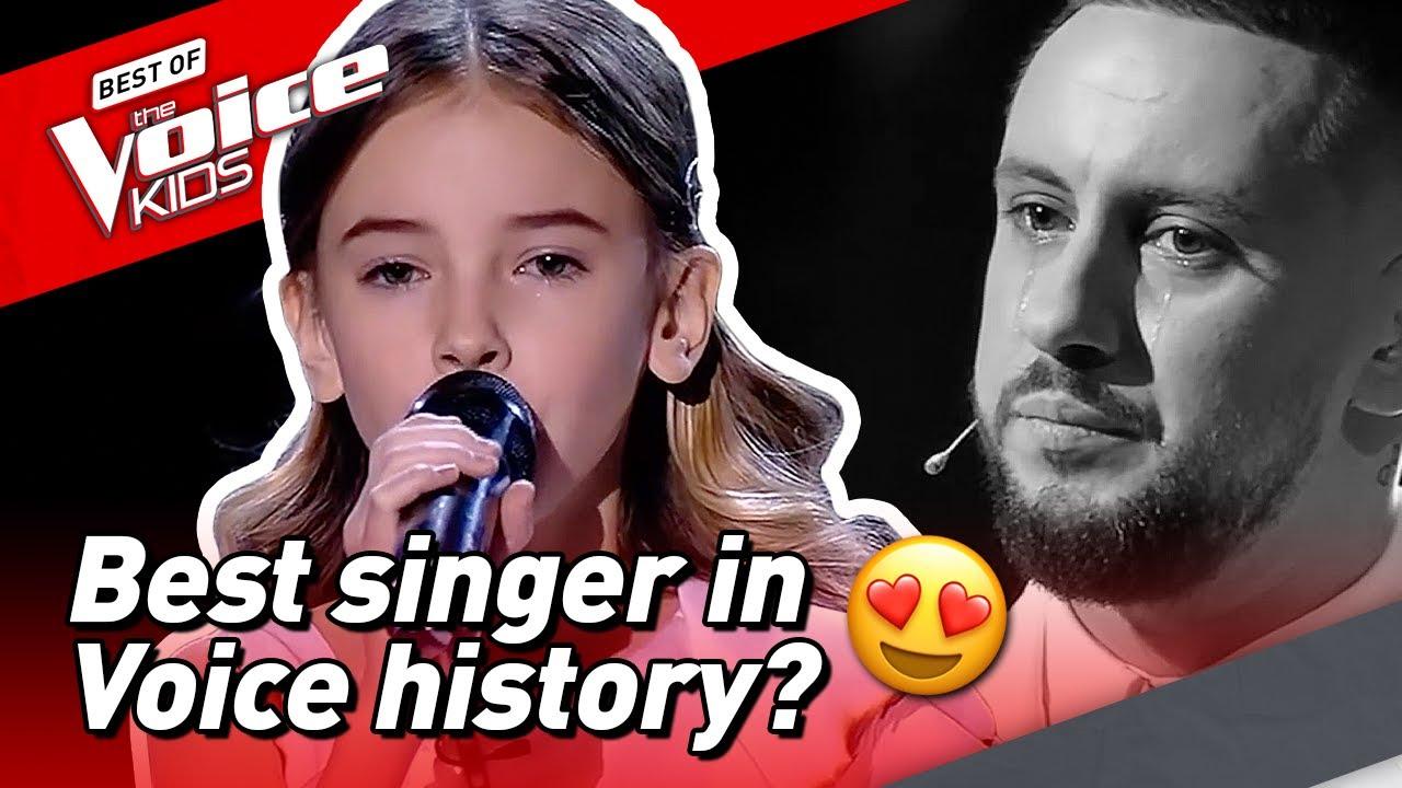 10-Year-Old Daneliya brings COACH TO TEARS in The Voice Kids! ?