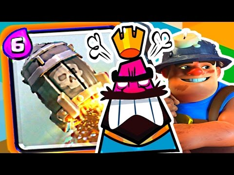 Clash Royale - EASY Rocket + Miner!