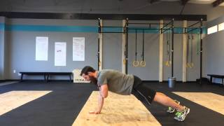 Shoulder Taps for Core Activation | GPS Human Performance | CrossFit Reilly