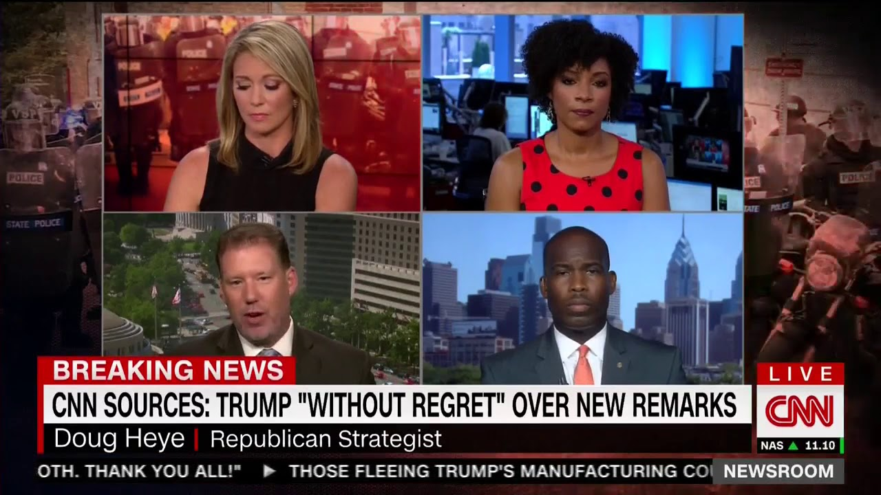 Download Zerlina Maxwell on CNN Newsroom Discussing Charlottesville