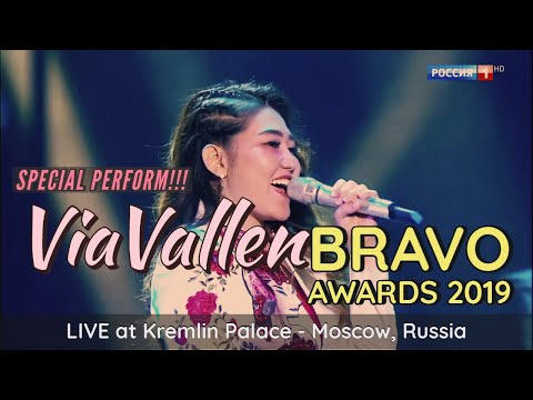 Via Vallen Nyanyi Selow Di Bravo Awards 2019 Moskow, Russia