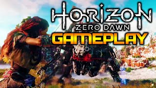 Horizon: Zero Dawn PS4 Gameplay - This Game Is Gonna Be AMAZING!