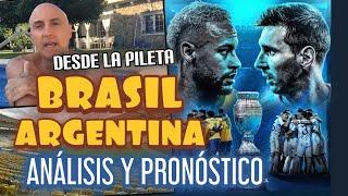 BRASIL vs ARGENTINA, MESSI vs NEYMAR, LA FINAL DE LAS FINALES,ANÁLISIS Y PRONÓSTICO COPAAMÉRICA