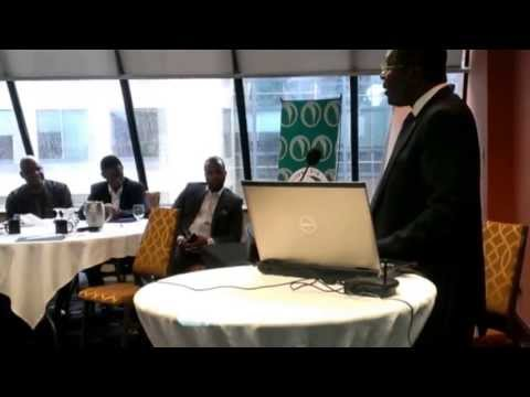 The {NPBN} Network - Ottawa June 22, 2013 | Breakfast with the Leaders - Amb. Azoh-Mbi