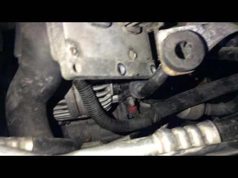 saab 93 alternator removal!! youtube  saab 9 3 alternator wiring #10