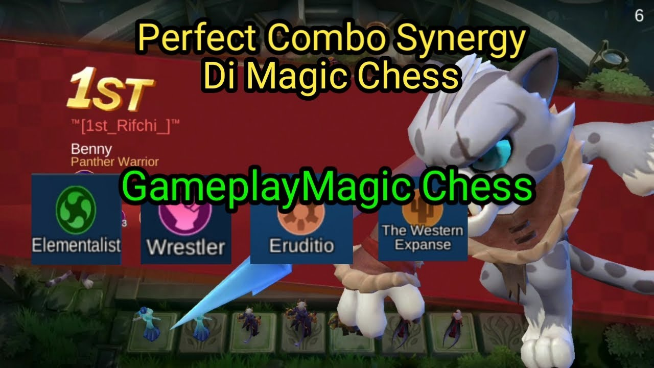 Gameplay Magic Chess | Perfect Combo Synergy | Mobile Legend Bang-Bang | Magic Chess