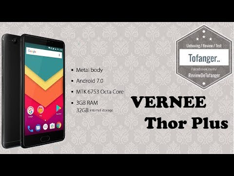 Vernee Thor PLUS, a smartphone with good value for money and a big battery ..