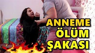 ANNEME ÖLÜM ŞAKASI YAPTIM !!!