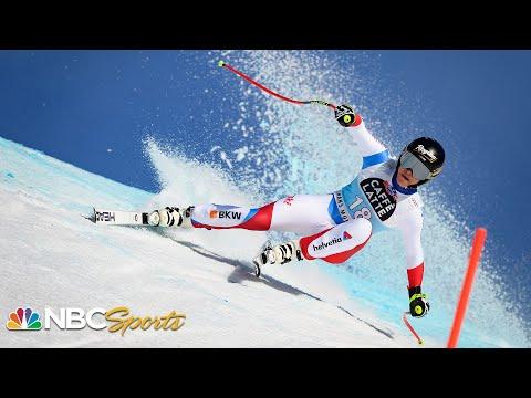 Lara Gut-Behrami snaps World Cup downhill drought in Crans-Montana  NBC Sports