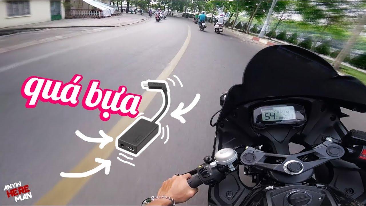 ĐẬU XANH THẰNG GOPRO HERO 5 | Ride Diary 82 | Vietnam motovlog