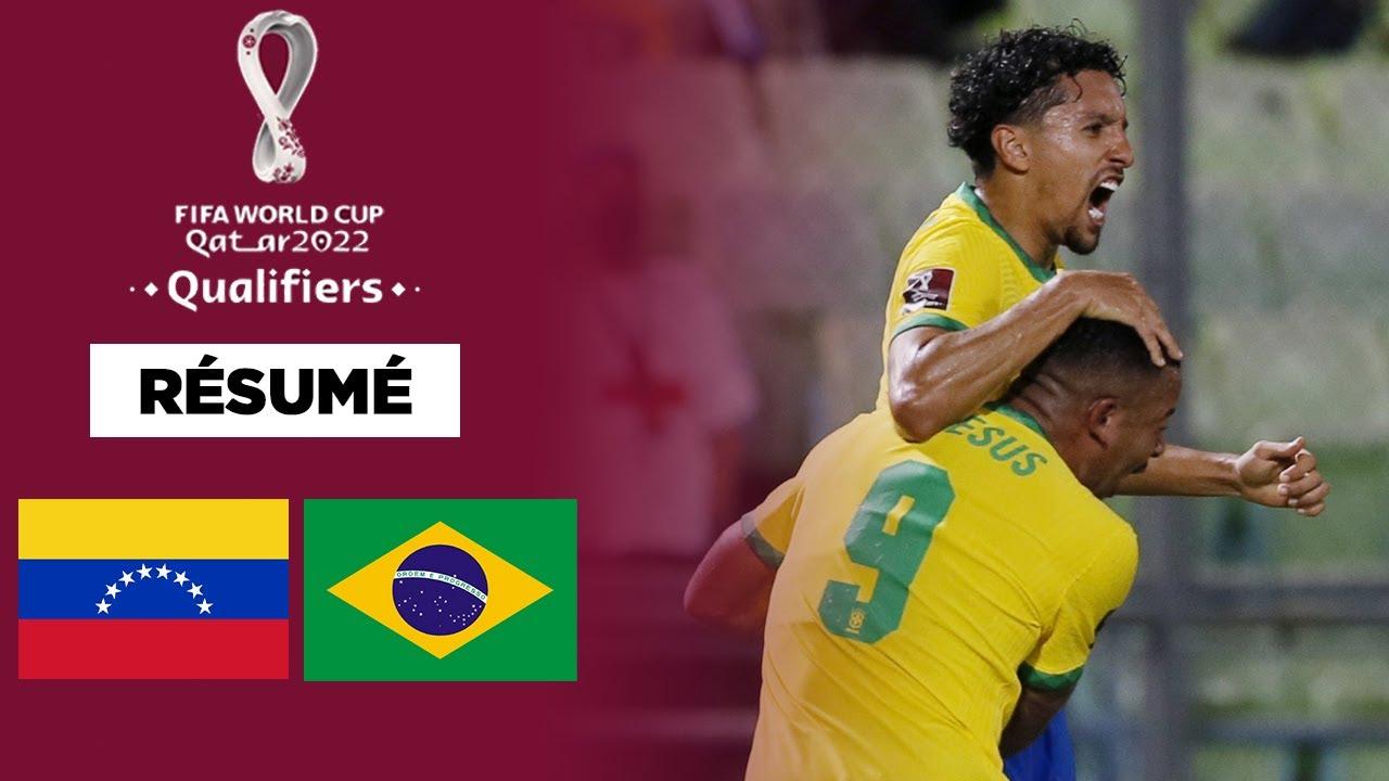 Download Résumé : En 20 minutes, le Brésil et Marquinhos renversent le Venezuela