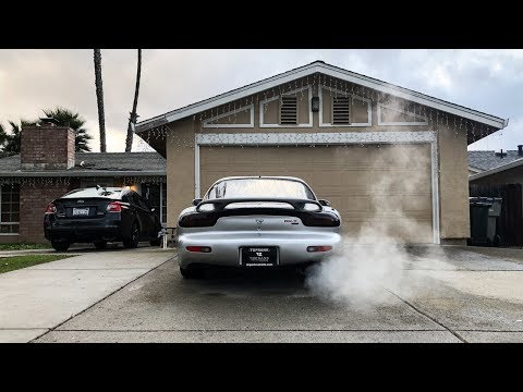 THE RHD RX7 SOUNDS SO GOOD!!